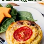 Sausage & Veggie Egg Muffins