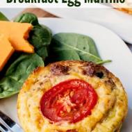 Sausage & Vegetable Breakfast Egg Muffins (Gluten-Free)