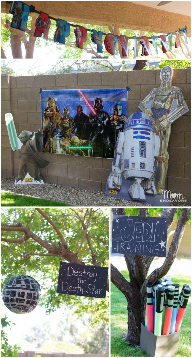 Star Wars Outdoor Party Decor