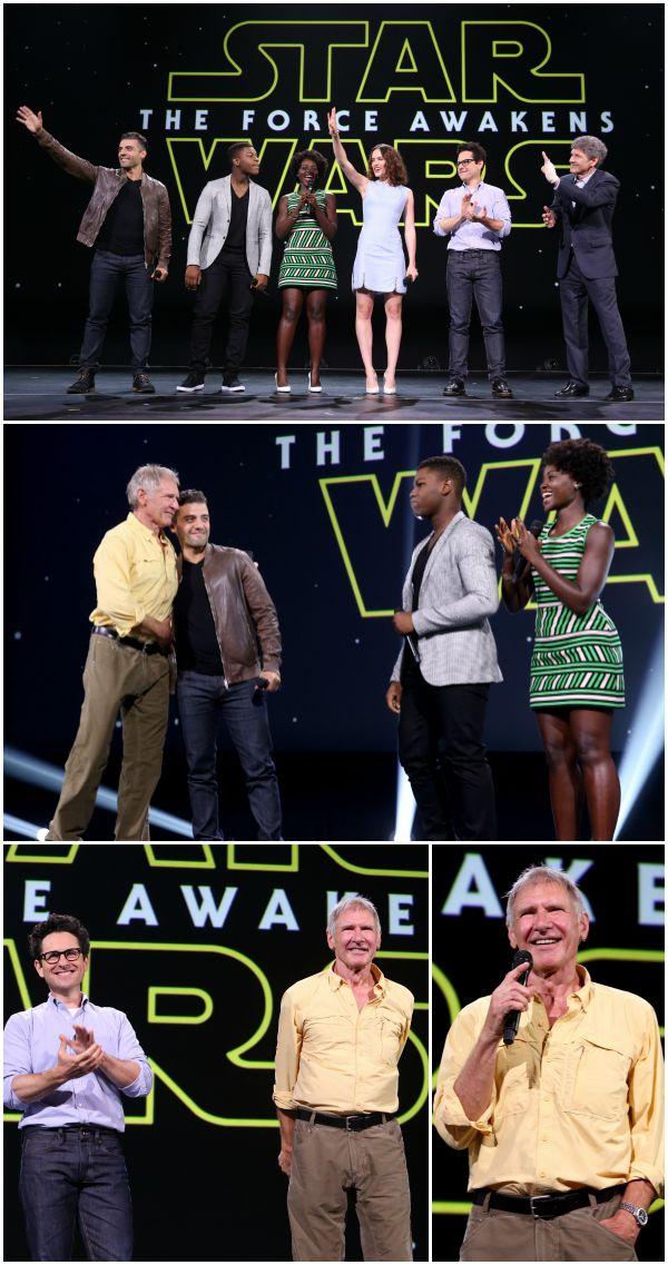 Star Wars The Force Awaken Actors Harrison Ford