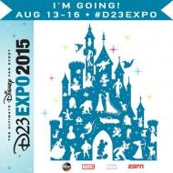 Heading to Disney's D23 Expo 2015!!