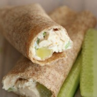 Non-Sandwich School Lunch Idea: Chicken Salad Wraps