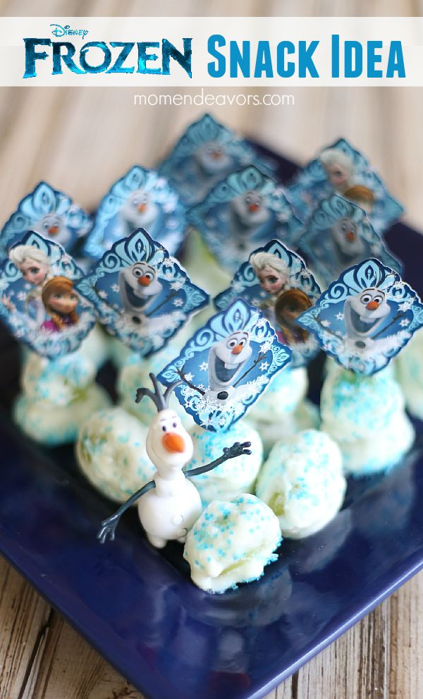 Disney Frozen Snack Idea