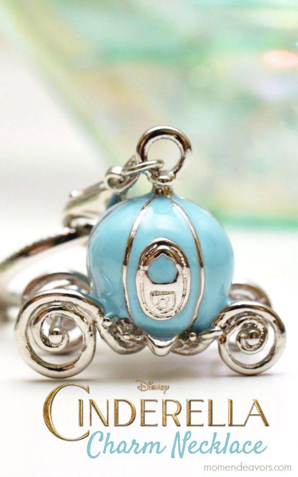 Disney's Cinderella Charm Necklace