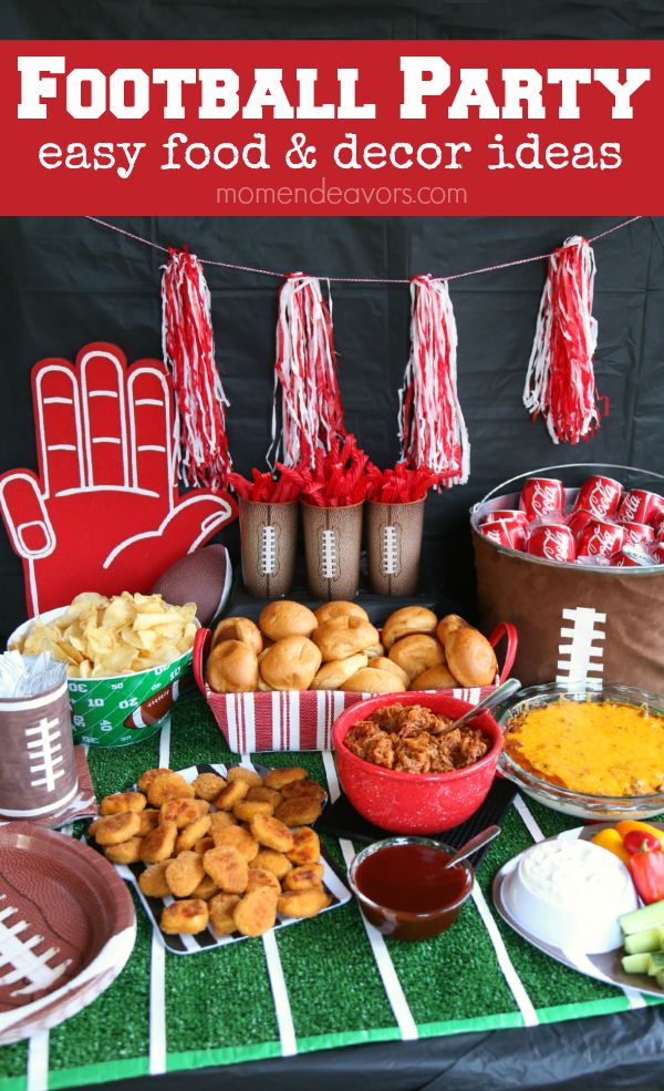Easy Football Party Food Recipes