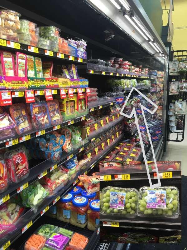 FROZEN grapes at Walmart