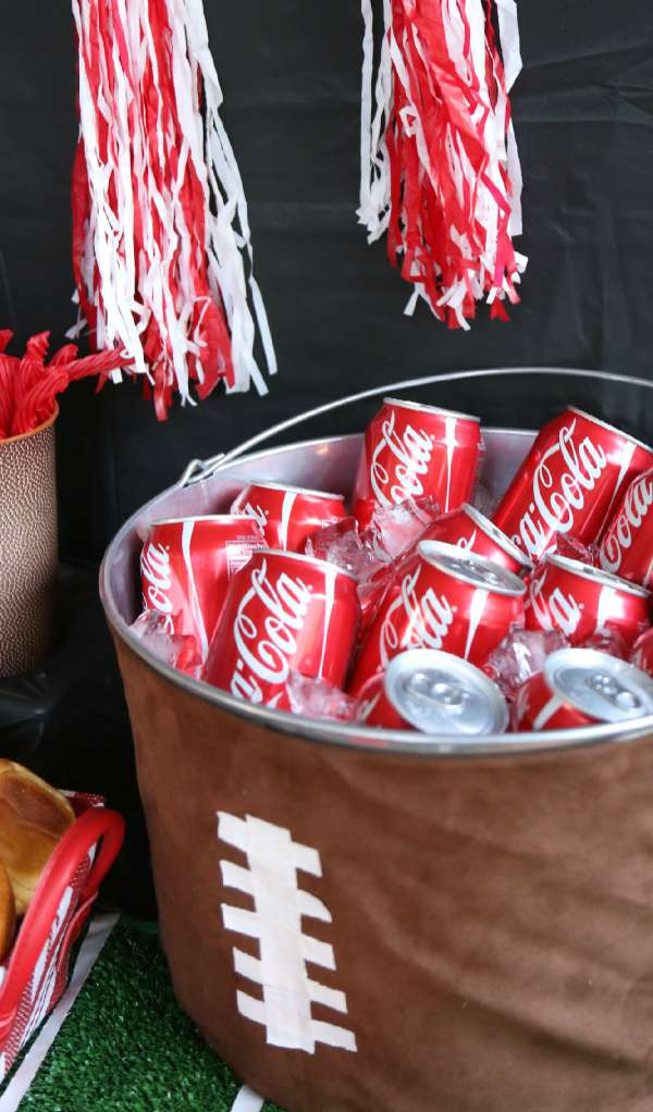 Football Party Drink Tub