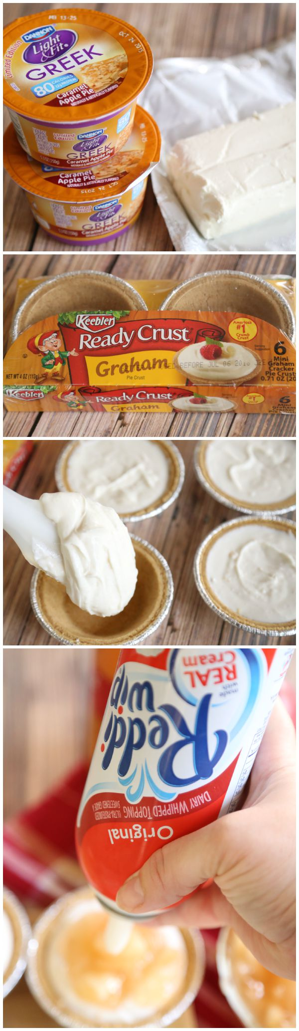 Greek Yogurt Cheesecakes