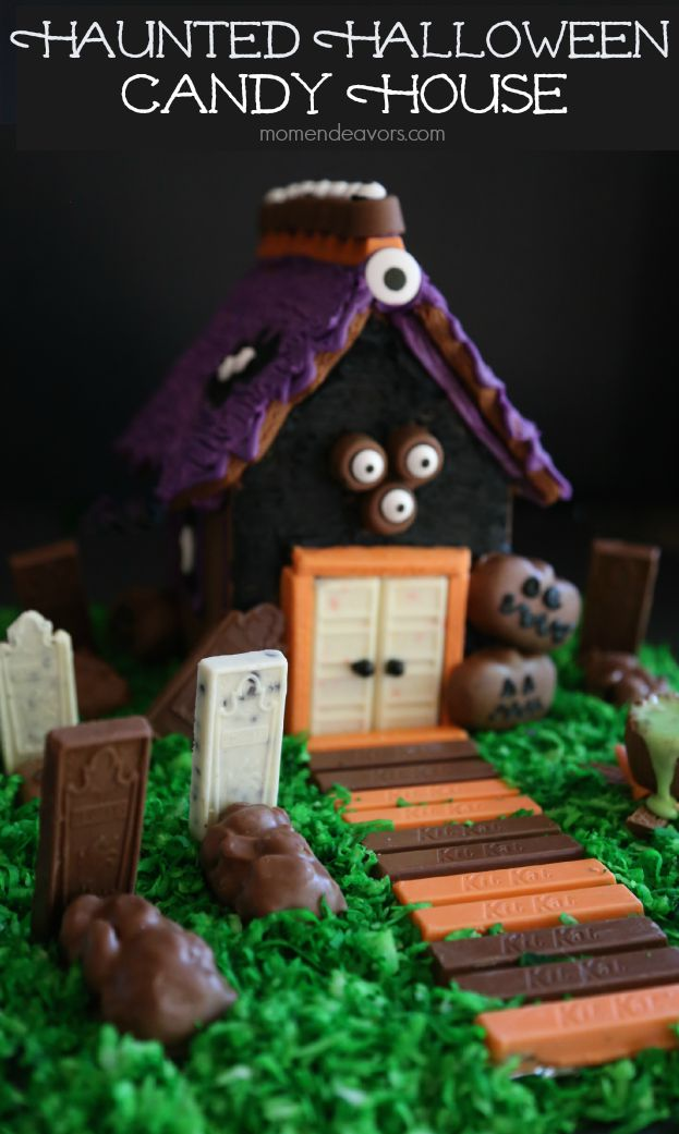 Haunted Halloween Candy House