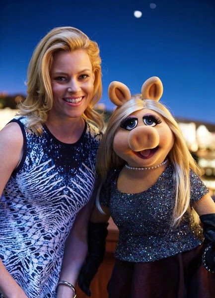 Miss Piggy & Elizabeth Banks