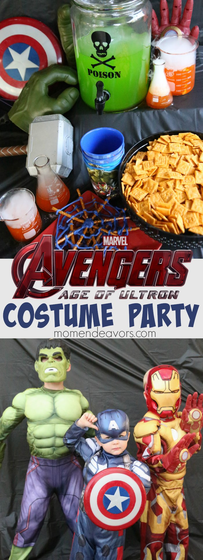 Avengers Costume Party