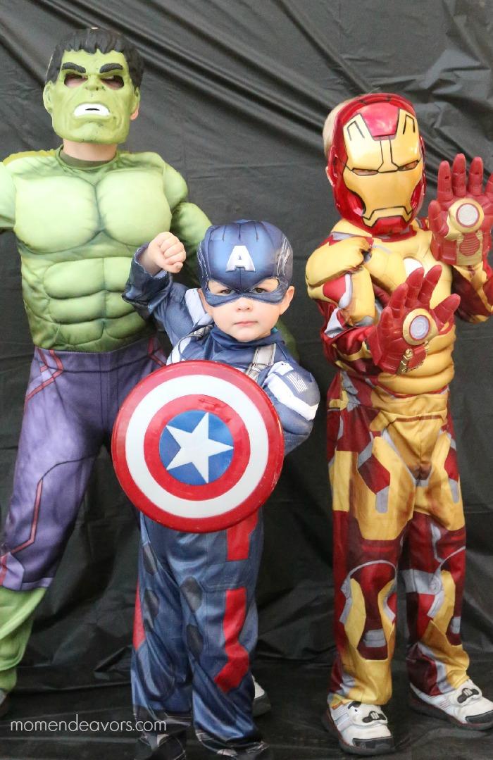 Avengers Costumes #AvengersUnite