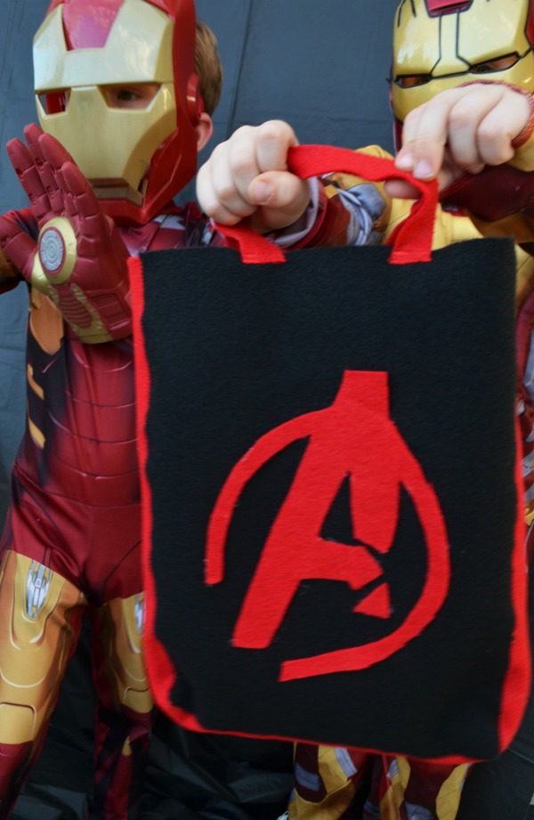 Avengers Trick or Treat bag