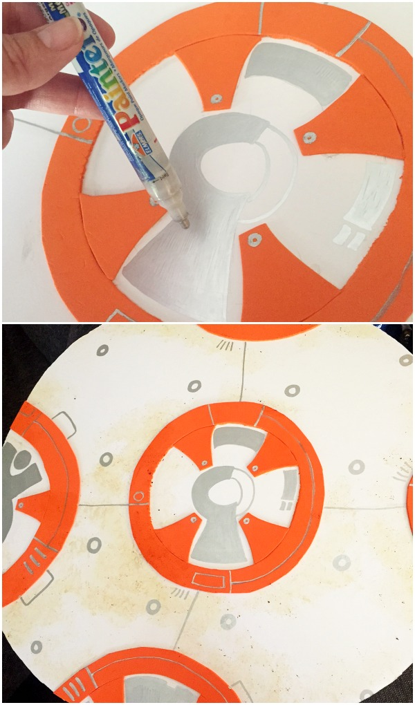 BB-8 DIY Costume