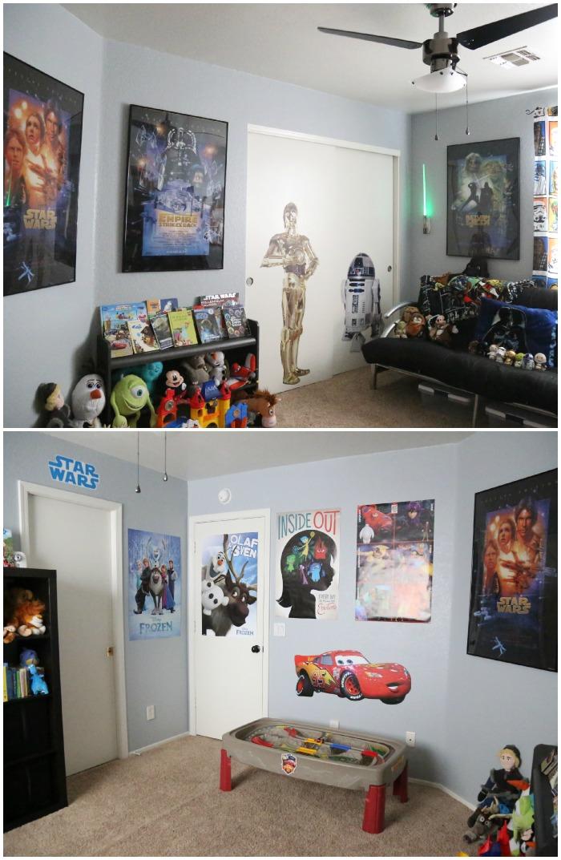 Boys Disney Star Wars Playroom