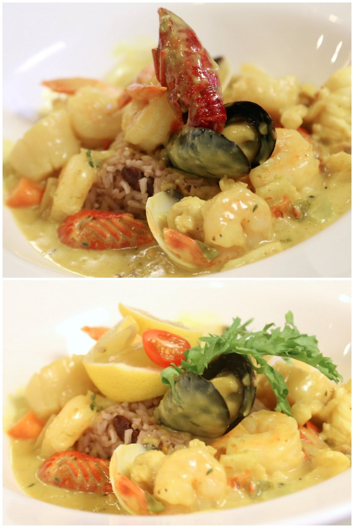 Caribbean Seafood Curry