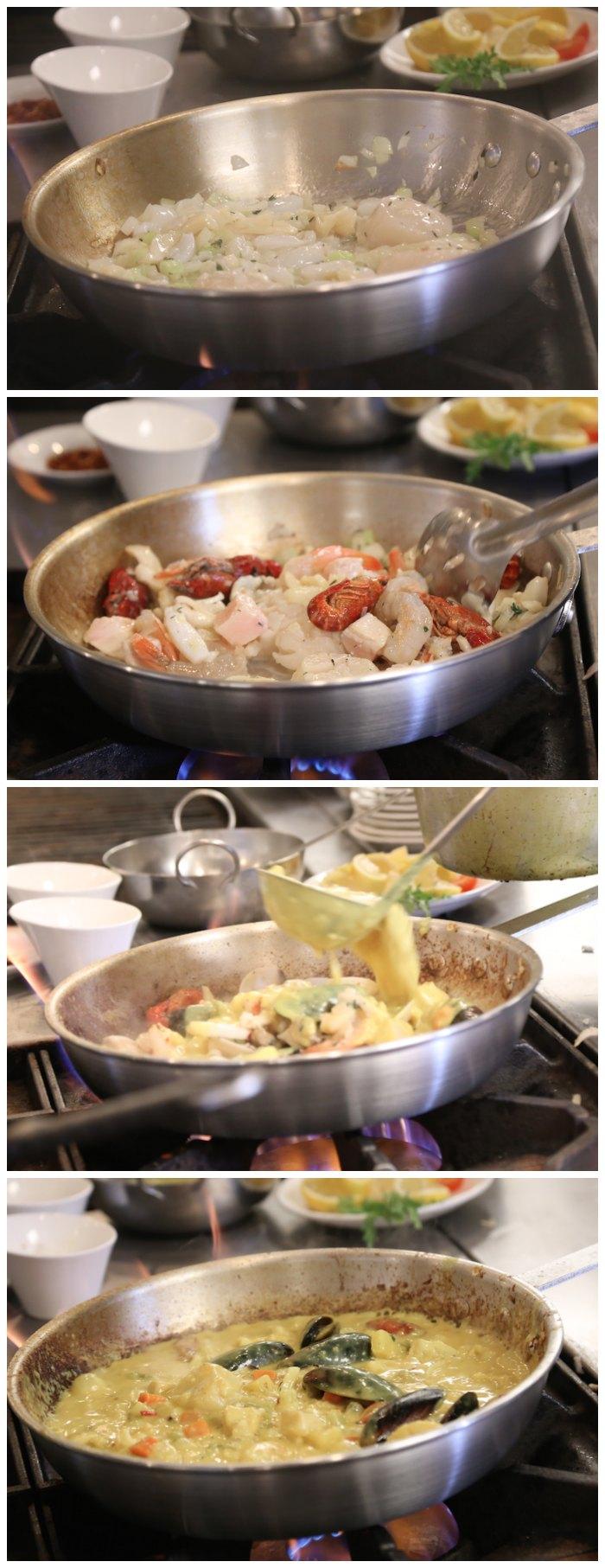 Coconut Curry Seafood Recipe