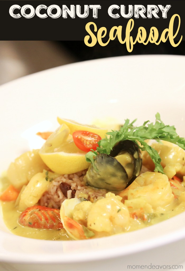 Coconut Curry Seafood