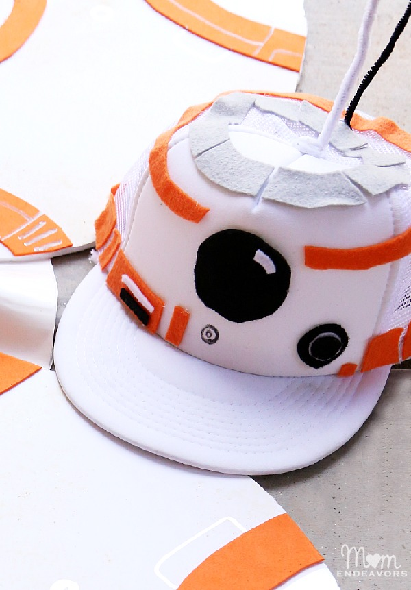 DIY BB-8 Hat
