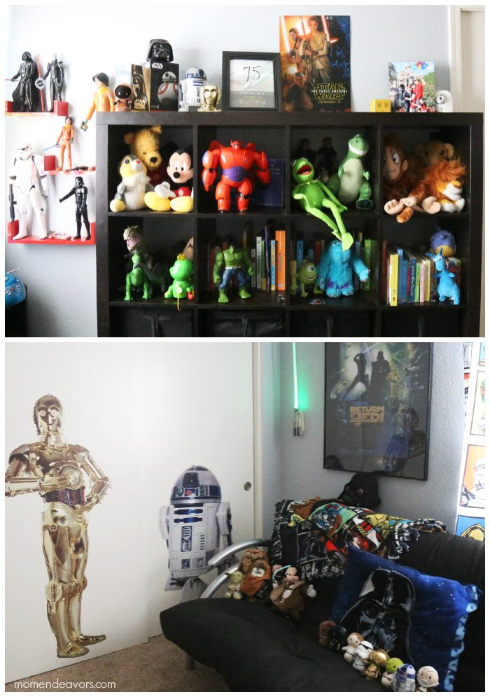 Disney Star Wars Playroom Decor