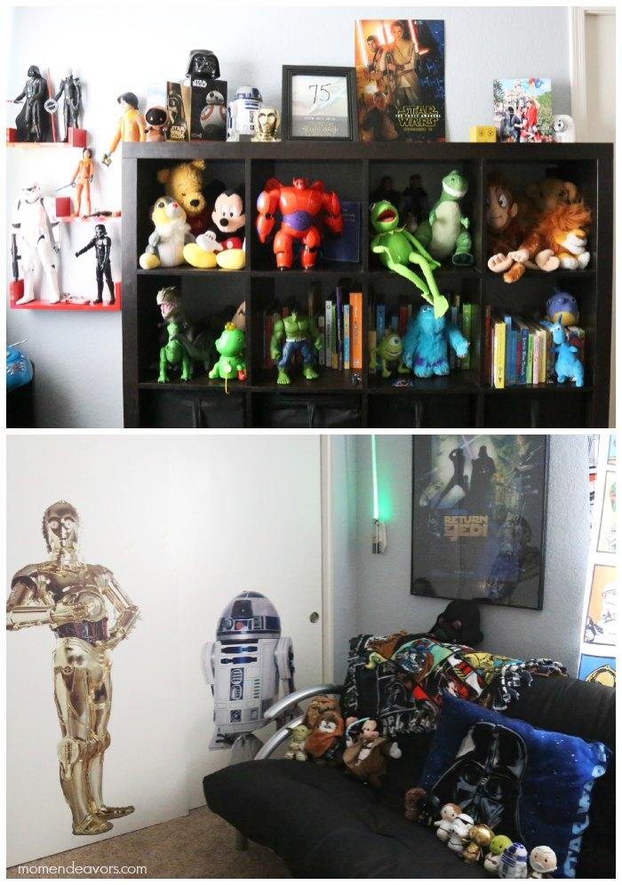 Disney Star Wars Playroom Decor