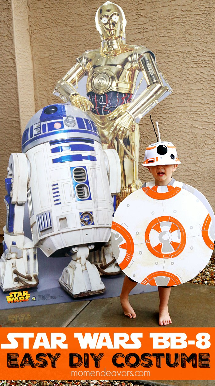 Easy DIY Star Wars BB-8 Costume