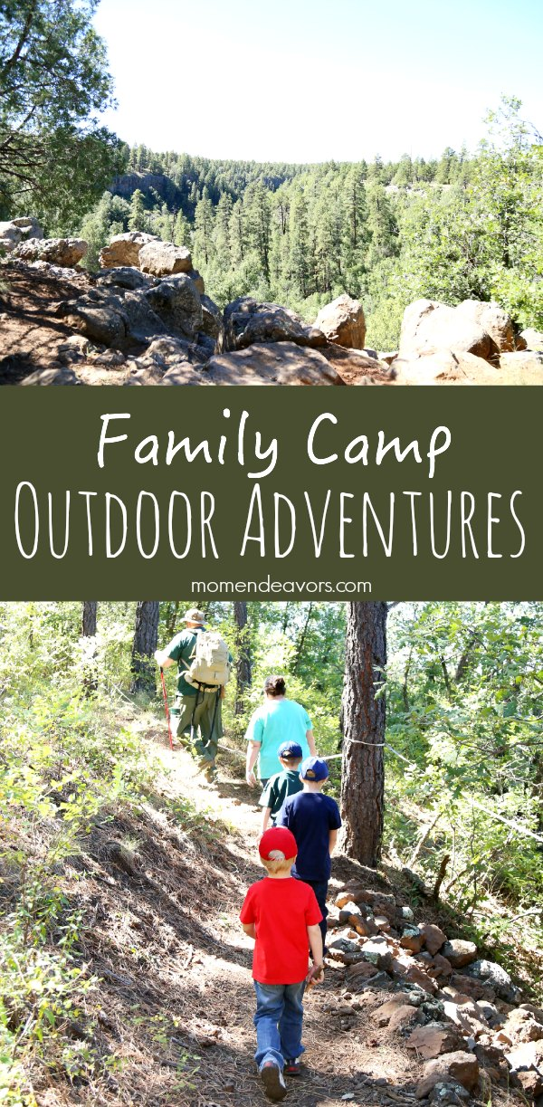 Family Camp Outdoor Adventures