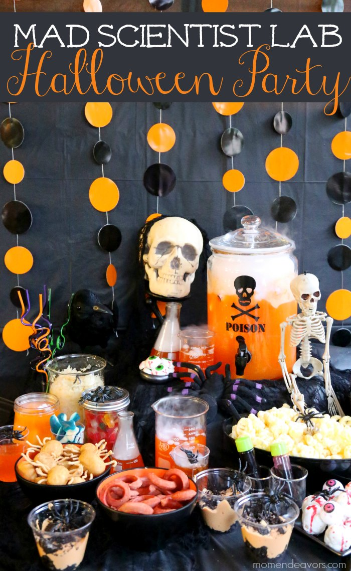 Mad scientist lab halloween party for Where to have a halloween party