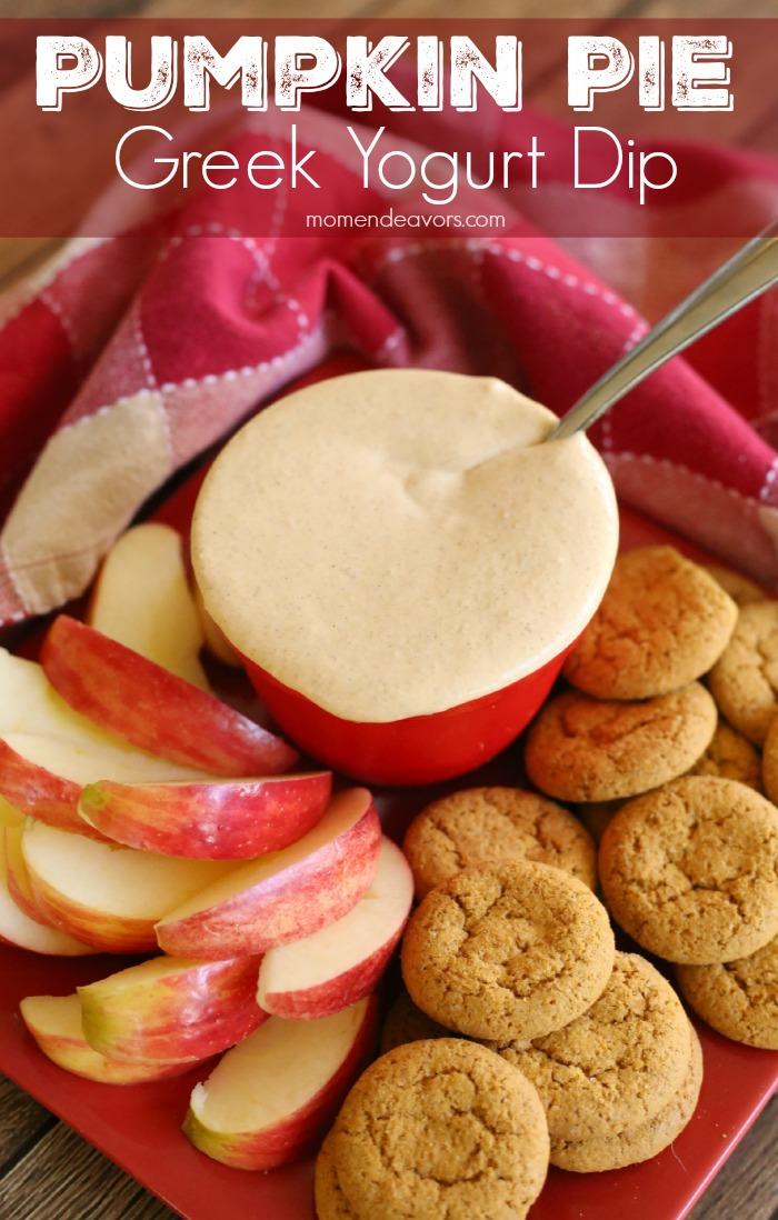 Pumpkin Pie Greek Yogurt Dip