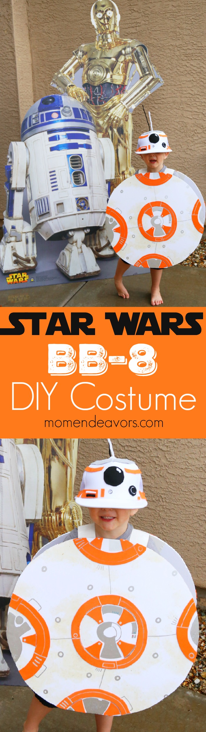 Star Wars BB-8 Easy DIY Costume