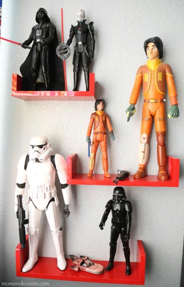 Star Wars Display Shelves