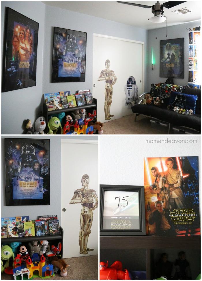 Star Wars Playroom Decor