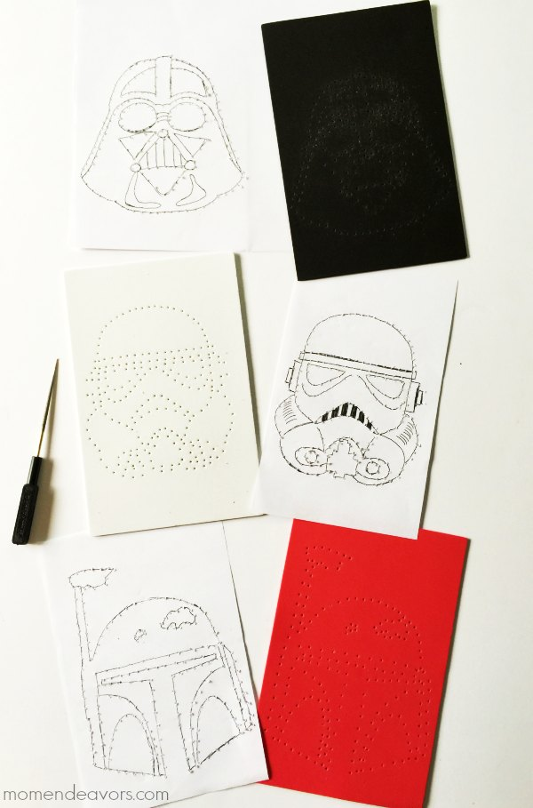 Star Wars Stitch Craft Templates