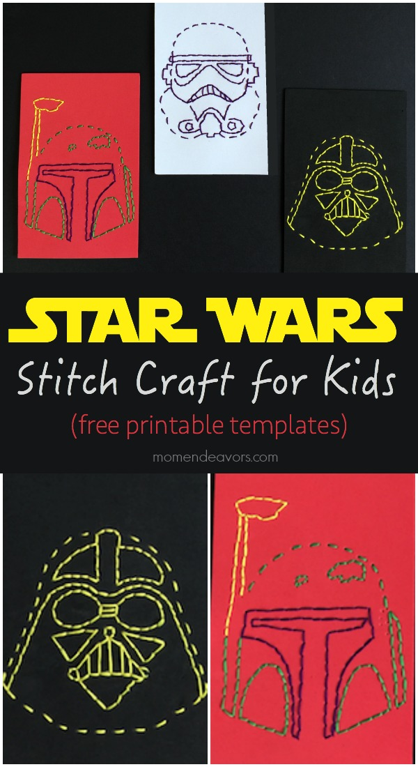 Star Wars Stitch Craft for Kids