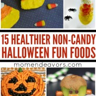 15+ Non-Candy, Healthier Halloween Fun Food Ideas