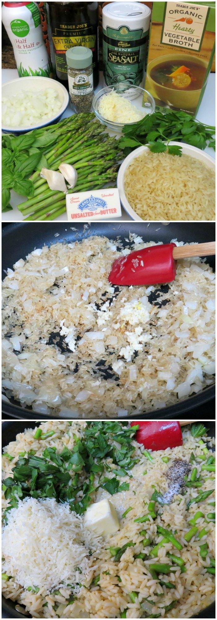 Asparagus Rissoto Recipe