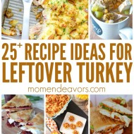 25+ Delicious Leftover Turkey Recipes