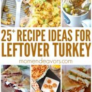 25+ Delicious Leftover Turkey Recipes