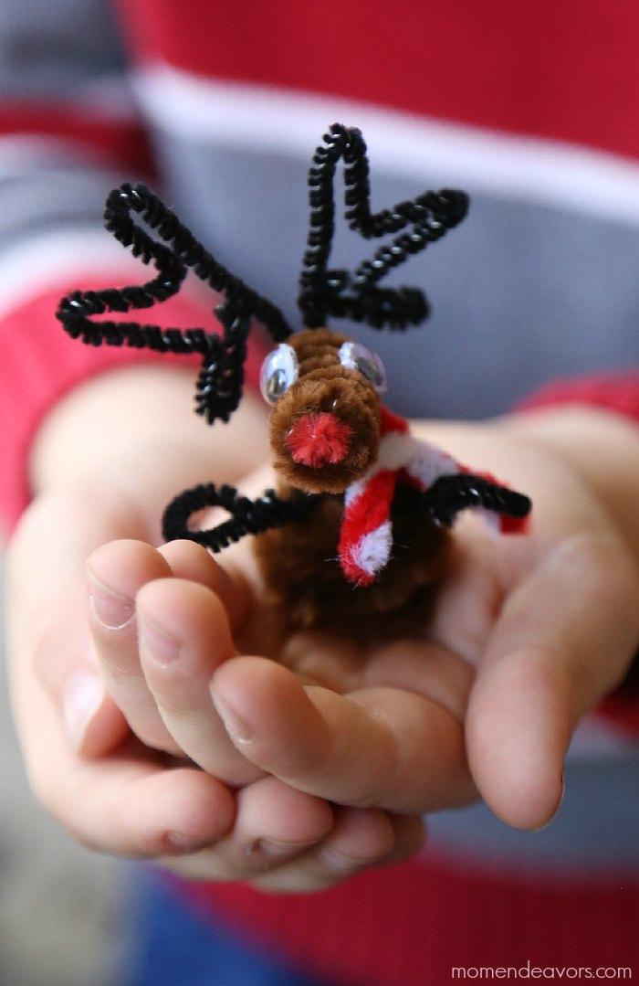 Christmas Kids Craft Reindeer