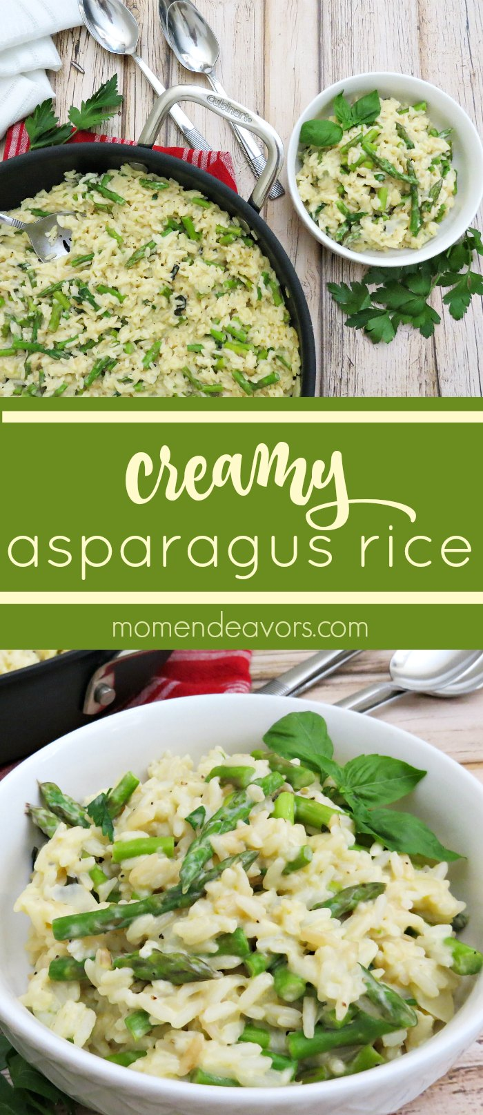 Creamy Asparagus Rice recipe