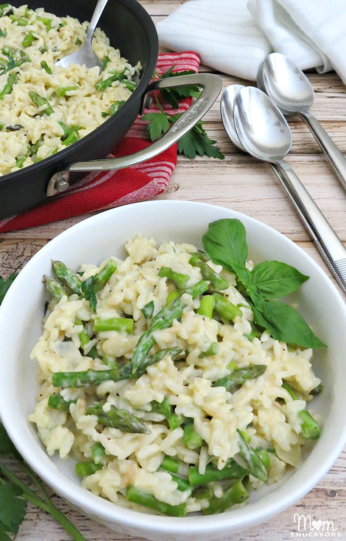 Creamy Asparagus Rice