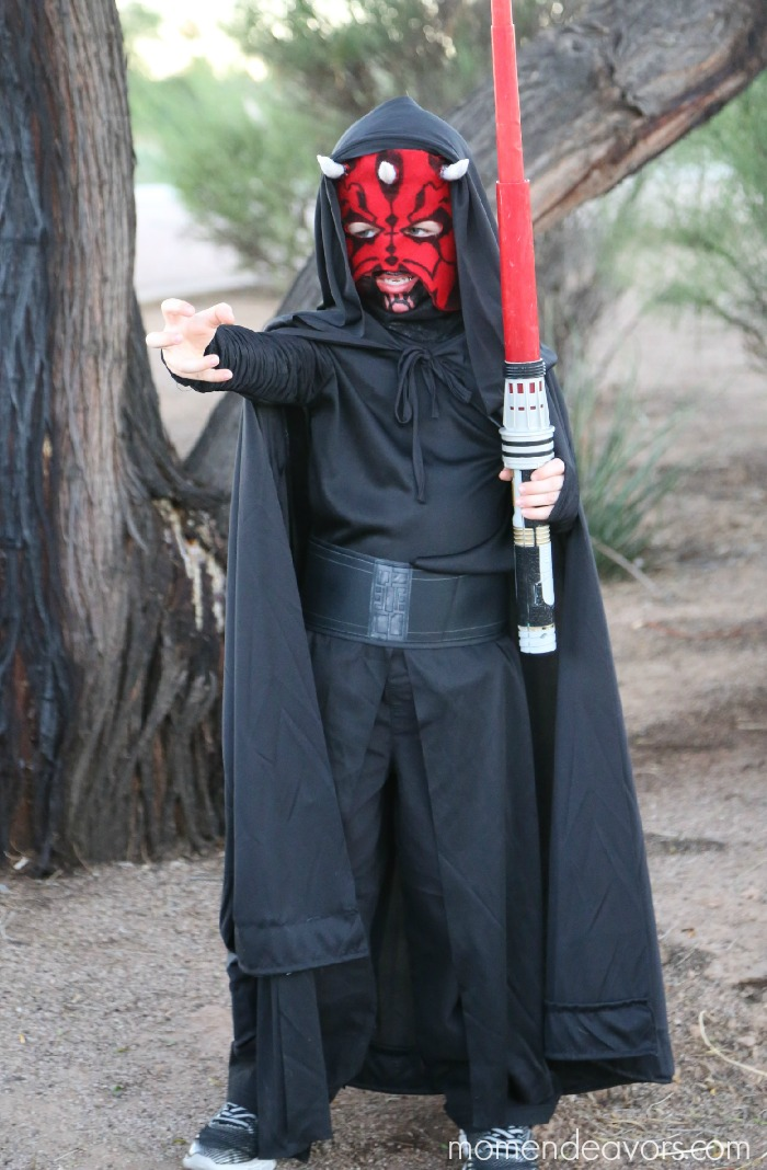 DIY Darth Maul Costume