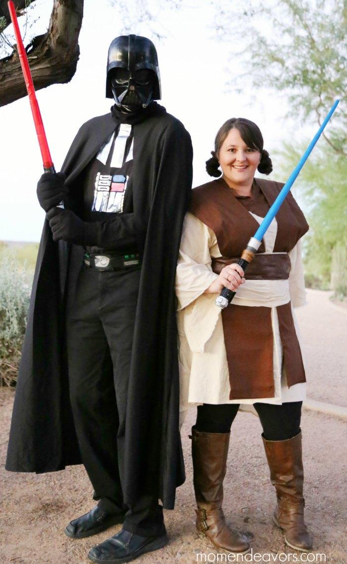 DIY Darth Vader & Jedi Costumes