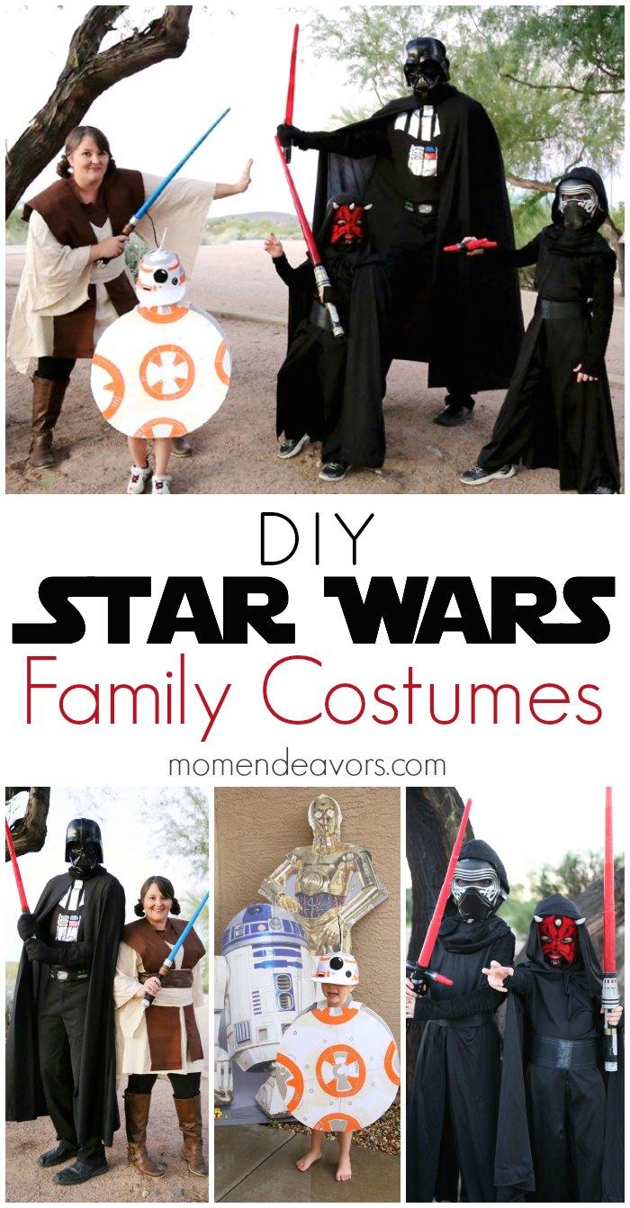 DIY Family Star Wars Costumes & DIY Star Wars Family Costumes