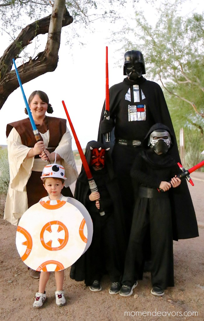 diy star wars family costumes. Black Bedroom Furniture Sets. Home Design Ideas