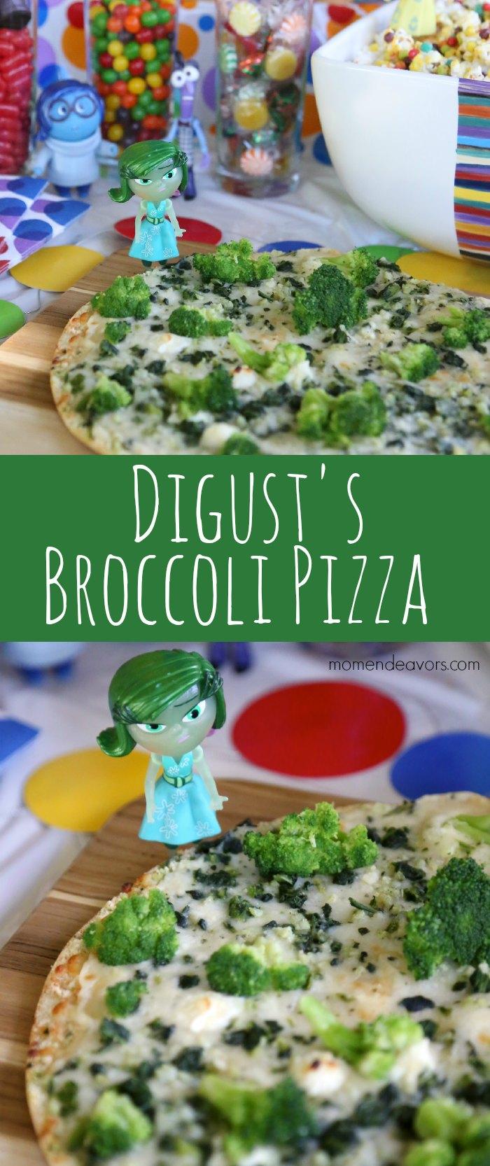 Disgust's Broccoli Pizza