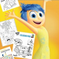 Disney-Pixar Inside Out Printable Activities & Coloring Pages