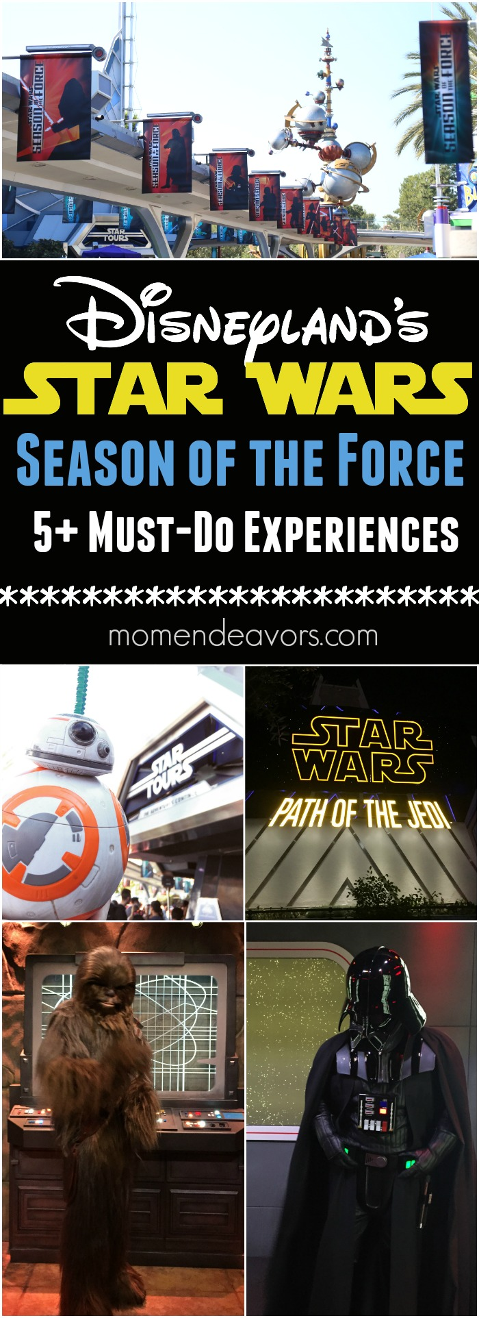Disneyland's Season of the Force Must-Do Star Wars Experiences