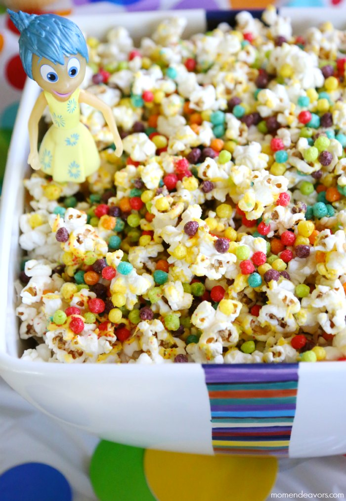 Inside Out Party Food Popcorn