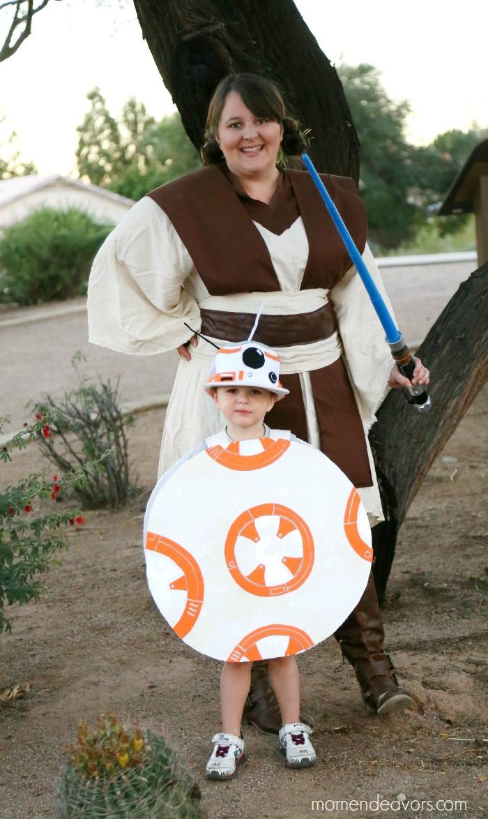 Jedi & BB-8 Costumes